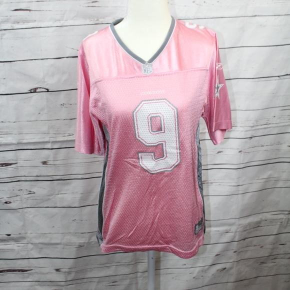 Dallas Cowboys Pink Tony Romo Jersey